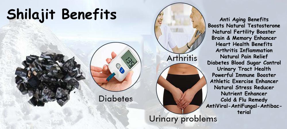 shilajit health benefits