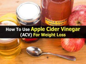 apple cider vinegar pills for weight loss