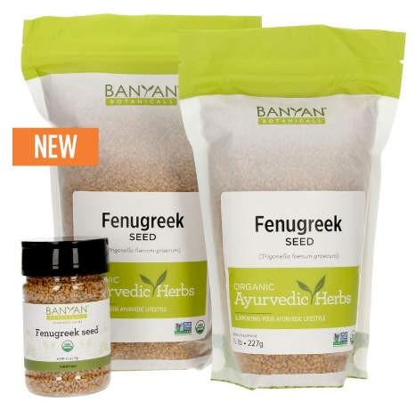 organic fenugreek seeds