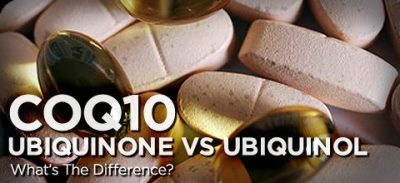 ubiquinone vs uniquinol