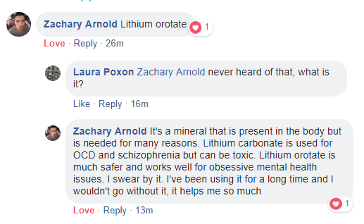 lithium orotate for depression