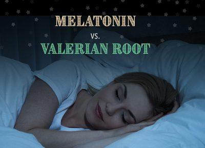 valerian root versus melatonin