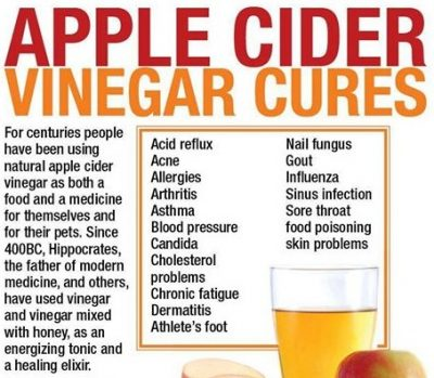what are health benefits of apple cider vinegar